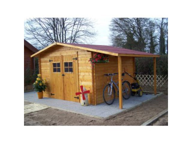 Abri de jardin en bois plus b cher utile vd contact scgi grossiste - Abri de jardin bucher ...