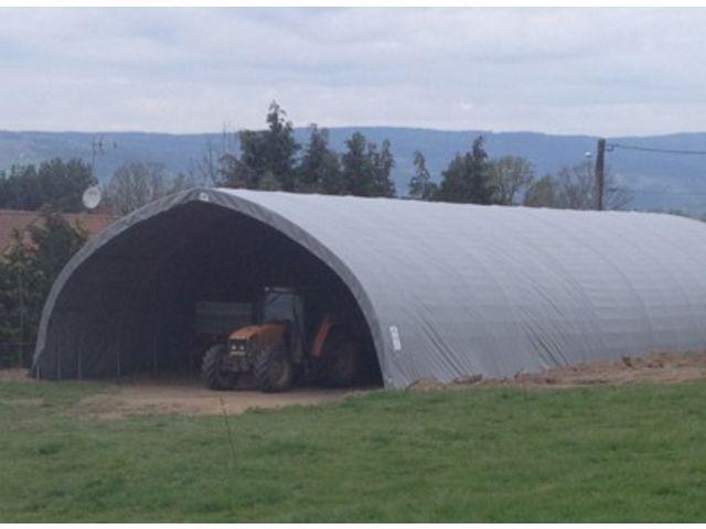 Abri de stockage tunnel pvc grande hauteur id al for Abri de stockage agricole