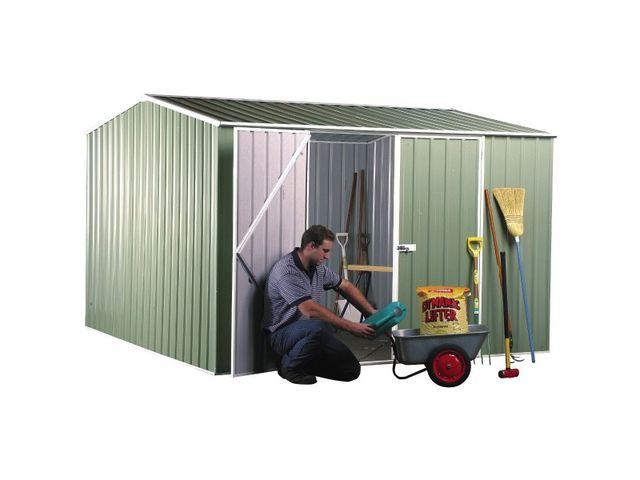 Abri jardin métal AB 3030.02 Tôle epoxy Colorbond Surface de 8.76 ...