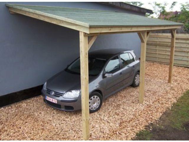 abri voiture adosse ou abri b ches id570 contact france abris. Black Bedroom Furniture Sets. Home Design Ideas