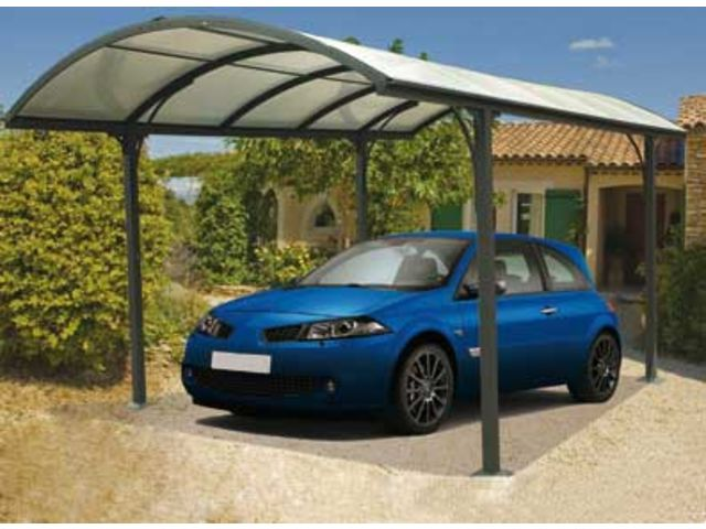 Abri voiture aluminium id1795 contact france abris - Abri voiture aluminium ...