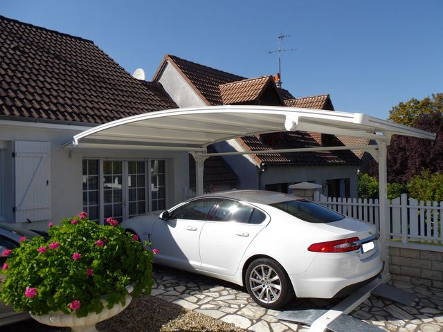 abri voiture carport mod le golf 2 pieds prestige contact abris proteccar. Black Bedroom Furniture Sets. Home Design Ideas