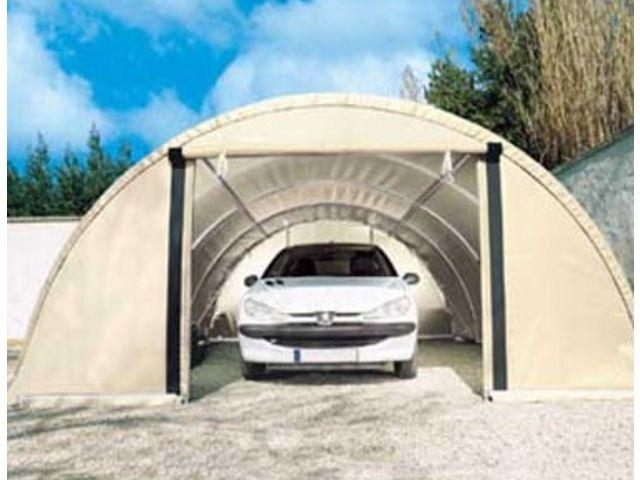 abri voiture pvc richel toutabri 4m50 x 7m50 vert contact france abris. Black Bedroom Furniture Sets. Home Design Ideas