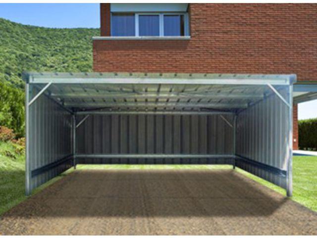 abri voiture simple pente 3 00 x 3 00 m contact france abris. Black Bedroom Furniture Sets. Home Design Ideas