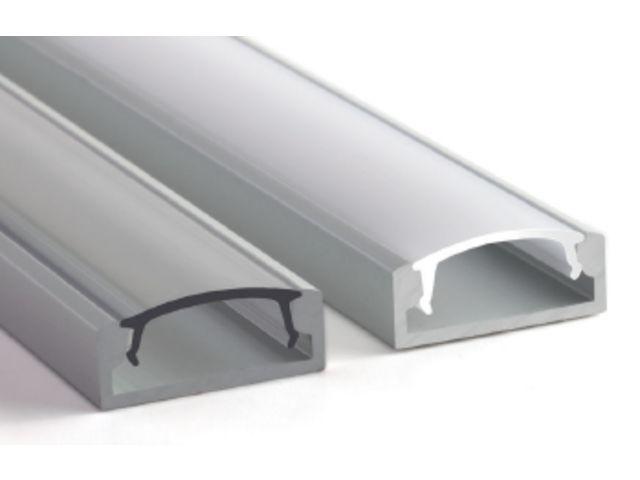 accessoire bandeau led diffuseur 2m profile sl 23x8mm. Black Bedroom Furniture Sets. Home Design Ideas