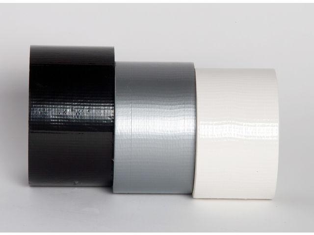 Adhésif toilé blanc noir ou gris contact best eurl