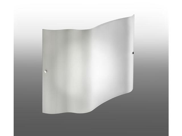 Air applique verre opale w aric contact sbf eclairage
