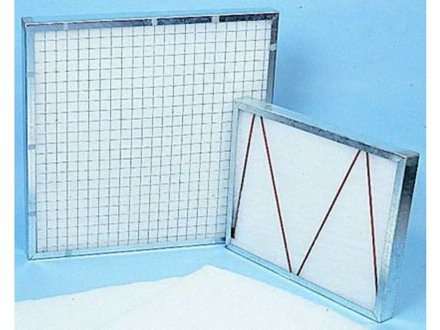 Air Filtration Service Frame 24x24x2in