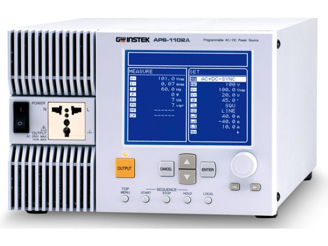 Alimentation alternative - continue programmable APS 1102A_DIMELCO_1
