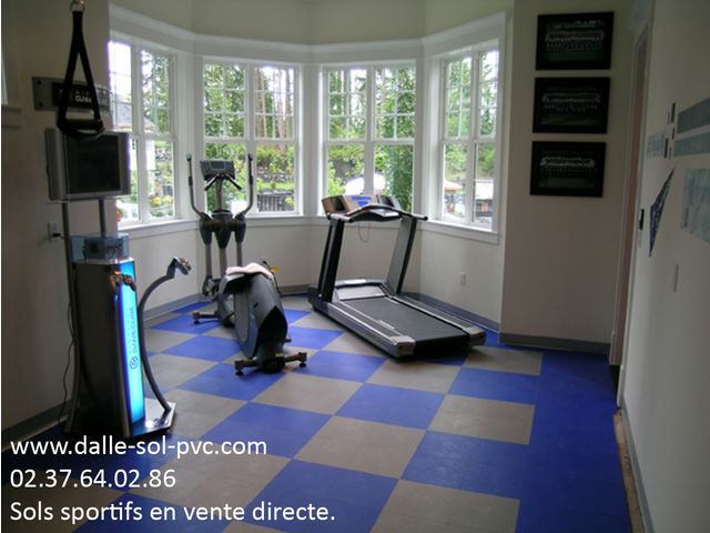 amenagement salle de sport contact dalle sol pvc com une activit apara. Black Bedroom Furniture Sets. Home Design Ideas