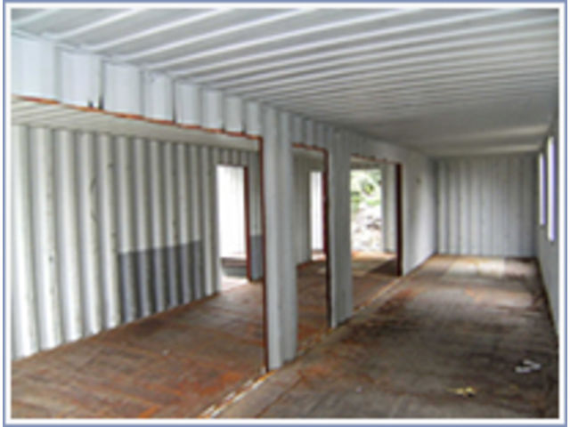Am nagements sp ciaux de container habitable contact tcsi for Container wohnhaus