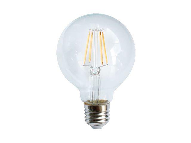 700 E27 W G80 2 4 36 À Ampoule Équivalence K Incandescence Filament Led OPkn0w