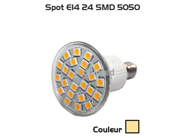 Leds Ampoule Blanc E14 24 5050 Smd Chaud12v24v kw8n0OXP