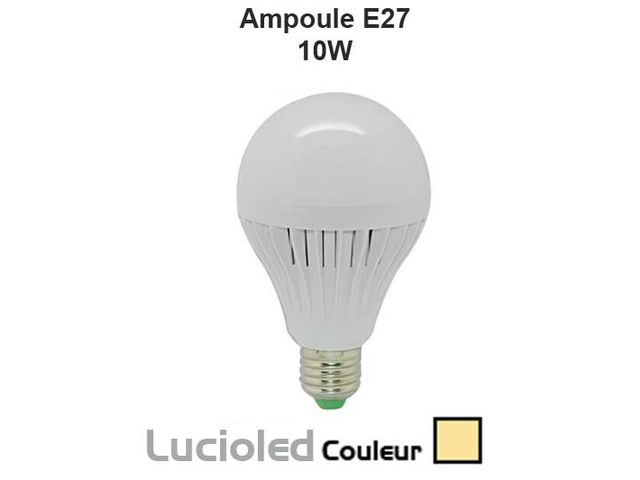 ampoule led vis e27 globe 10w blanc chaud contact led flash. Black Bedroom Furniture Sets. Home Design Ideas