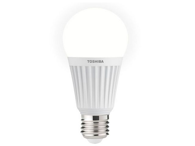 ampoule led bulbe a60 e27 toshiba e core 13w dim contact. Black Bedroom Furniture Sets. Home Design Ideas