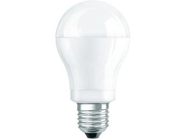 ampoule led en forme de poire e27 10 w 60 w blanc froid osram vendu par conrad contact. Black Bedroom Furniture Sets. Home Design Ideas