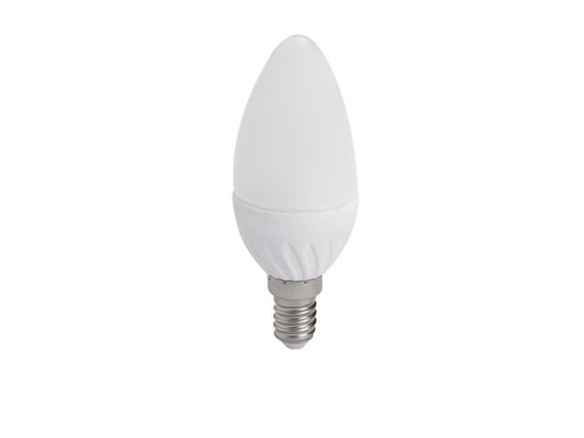 Ampoule led flamme E14 4.5 watt (eq. 35 watt) - Couleur eclairage - Blanc chaud 3000°K