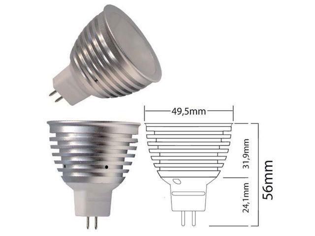 ampoule led mr16 5w 120 contact ecoled design. Black Bedroom Furniture Sets. Home Design Ideas