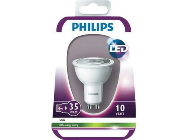 ampoule led philips mr16 gu10 4w vendu par conrad. Black Bedroom Furniture Sets. Home Design Ideas