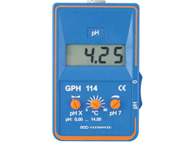 Analyseur d'eau GPH 114 - PCE INSTRUMENTS FRANCE
