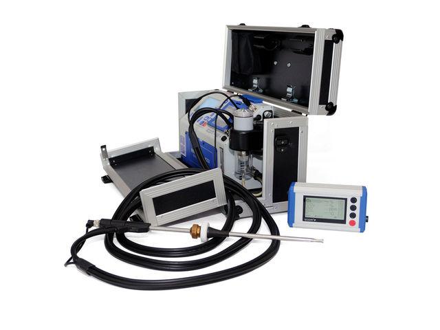 analyseur de combustion pour les chaudi res domestiques et tertiaires jusqu 39 4 gaz mesur s. Black Bedroom Furniture Sets. Home Design Ideas