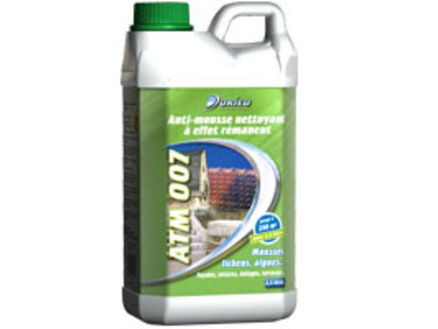 Anti mousse nettoyant effet r manent atm 007 contact groupe durieu for Produit anti mousse