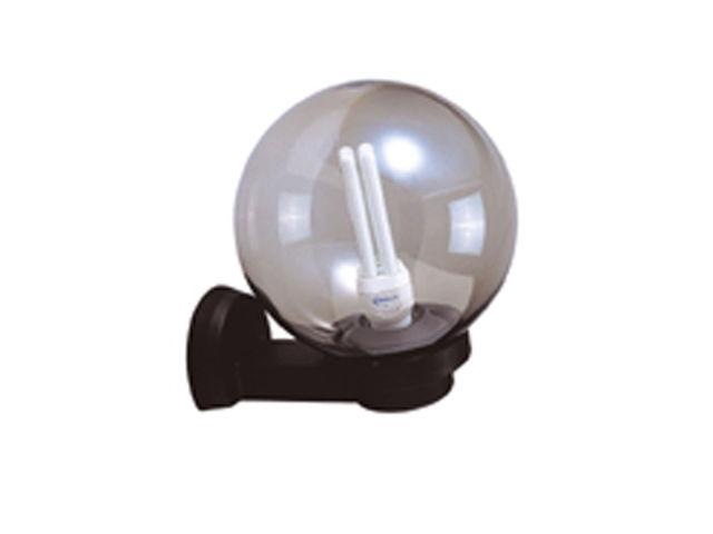 Applique boule e27 60w noir aric1707 contact for Applique boule exterieur