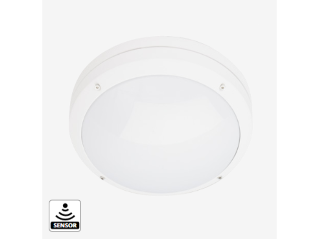 Applique d 39 ext rieur canto blanc 2000 led sensor r f for Exterieur 2000