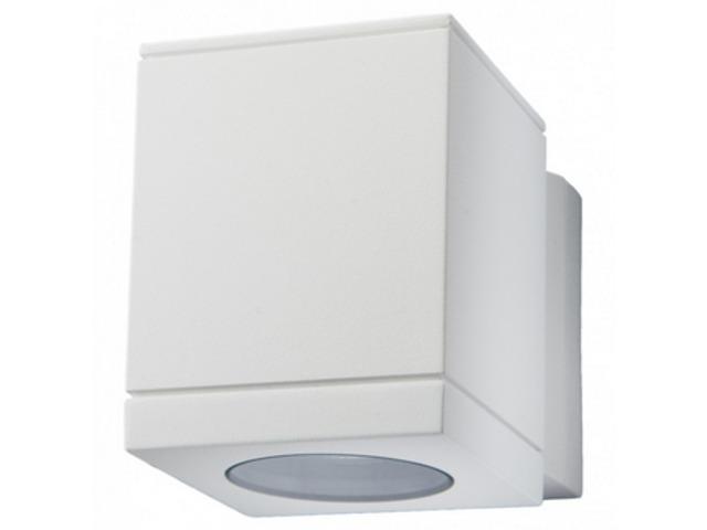 Applique Murale Extérieure Echo Halogène Blanc Mat 1 X 35w 230v