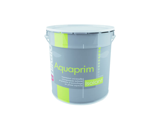 AQUAPRIM ISOLANT   IMPRESSION ISOLANTE ET PRIMAIRE Du0027ACCROCHAGE A BASE DE  RESINE SYNTHETIQUE EN