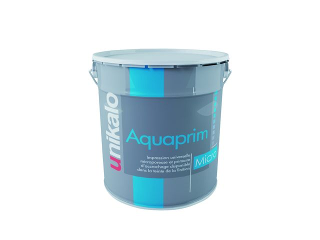 Aquaprim micro impression universelle opacifiante for Peinture d accrochage