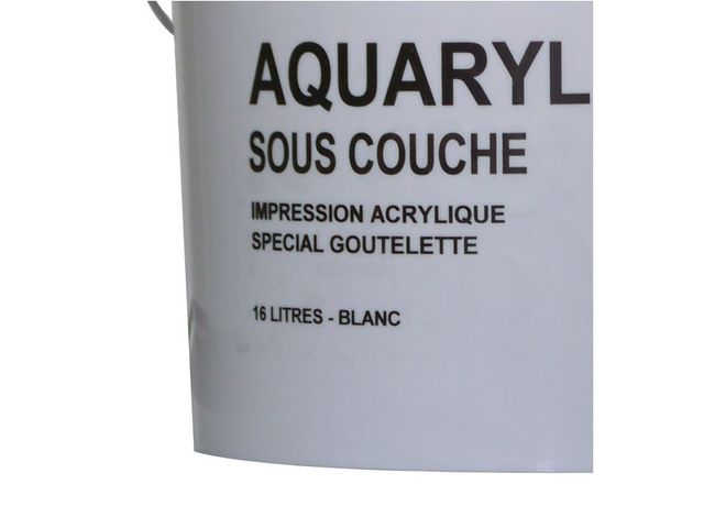 Aquaryl SousCouche  Impression Universelle A Base De Resine
