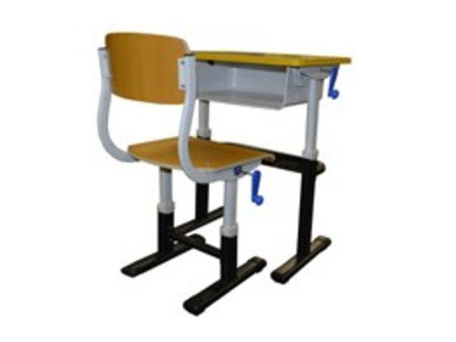 arakid 2 chaise et bureau scolaire contact aratice. Black Bedroom Furniture Sets. Home Design Ideas