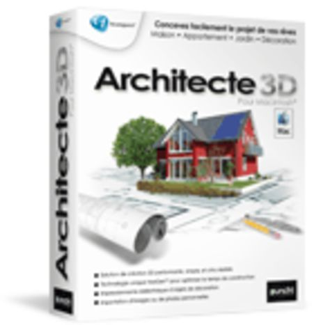 Architecte 3d pour macintosh contact bvrp software for Architecte 3d video