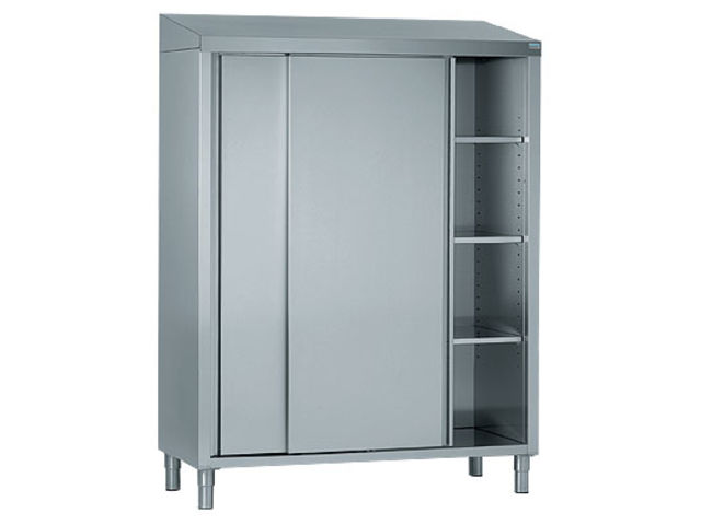 Armoire 2 portes coulissantes inox 1000X600 | Contact COOP LABO