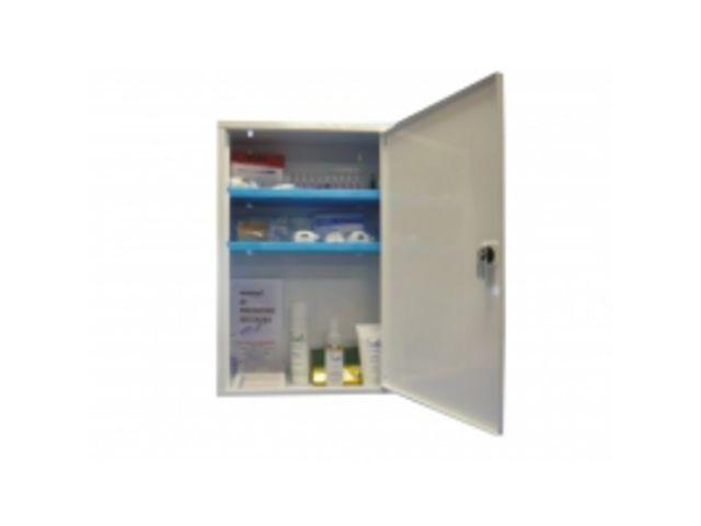 armoire pharmacie m tallique 1 porte avec serrure contact btp group achatmat. Black Bedroom Furniture Sets. Home Design Ideas