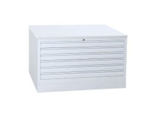 armoire plan m tallique 5 tiroirs contact axess industries. Black Bedroom Furniture Sets. Home Design Ideas