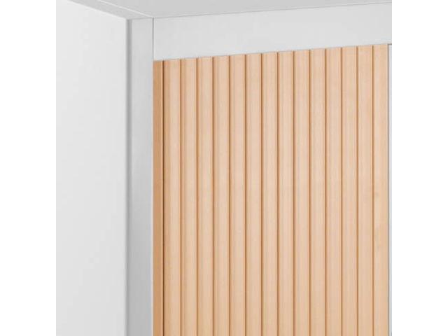 Armoire à rideaux démontables économique hauteur comptoir 100 x 90 ...