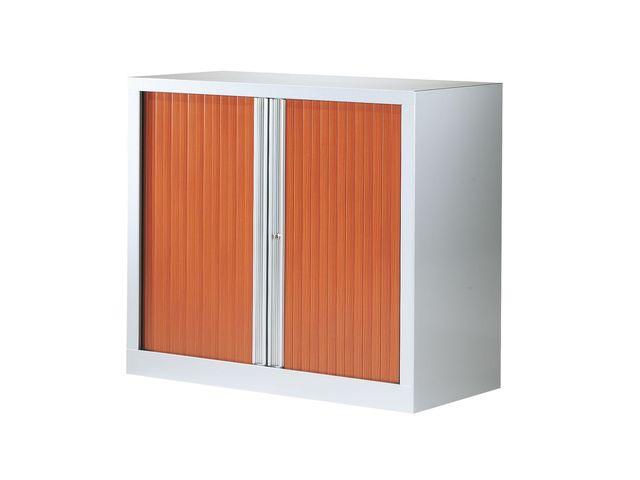 Armoire à rideaux merisier corps aluminium Basse Longueur 2 ...