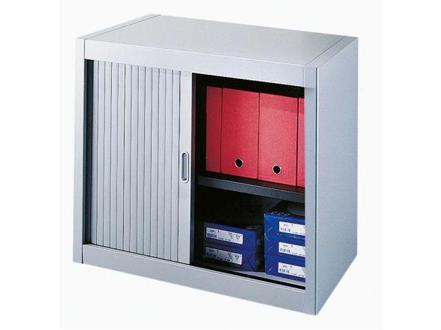 Armoire basse à rideaux démontables Décor 70 x 80 corps aluminium ...
