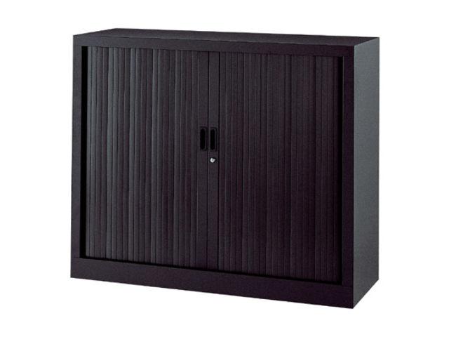 Armoire basse à rideaux monoblocs Généric 100 x 120 cm | Contact ...