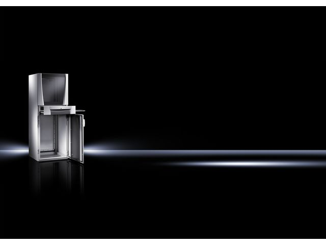 armoire de protection pc contact rittal. Black Bedroom Furniture Sets. Home Design Ideas