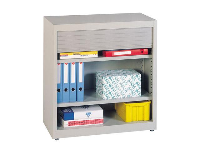 armoire de rangement rideau large x x mm contact setam rayonnage et. Black Bedroom Furniture Sets. Home Design Ideas
