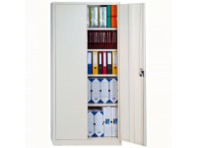 armoire de rangement m tal gris ral 7035 contact magequip sas. Black Bedroom Furniture Sets. Home Design Ideas