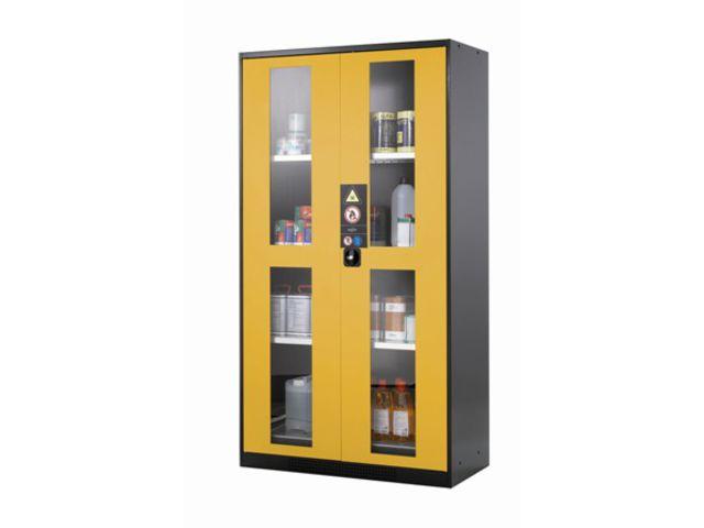 armoire de s curit portes vitr es 1065 litres contact. Black Bedroom Furniture Sets. Home Design Ideas