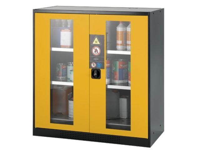 armoire de s curit portes vitr es 600 litres contact difope. Black Bedroom Furniture Sets. Home Design Ideas