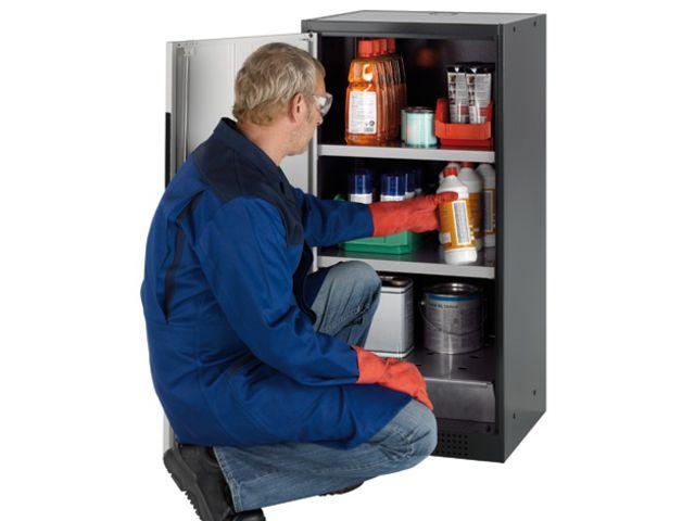 armoire de s curit pour produits dangereux et. Black Bedroom Furniture Sets. Home Design Ideas