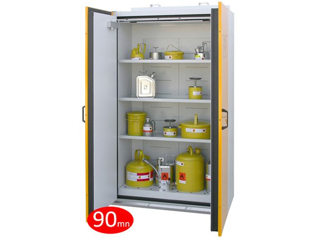 Armoire coupe-feu 90 mn pour inflammables - DIFOPE - ARM90DP193-119
