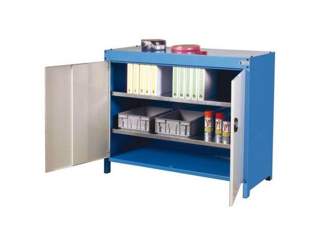 armoire en acier sur pied hauteur 1000 mm contact roll co. Black Bedroom Furniture Sets. Home Design Ideas