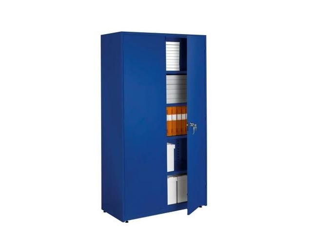 Armoire grand volume 1900x1020x500mm 4 tablettes bleu - Congelateur armoire grand volume ...